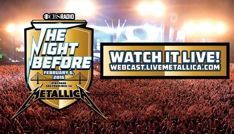 Le concert de METALLICA pour le Superbowl en Live streaming
