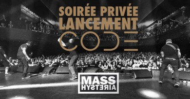 Live Report : MASS HYSTERIA à la Maroquinerie (Marshall Showcase) (Paris)