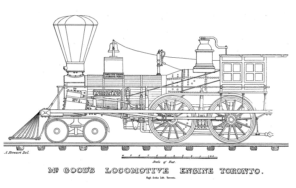 steam train schematics