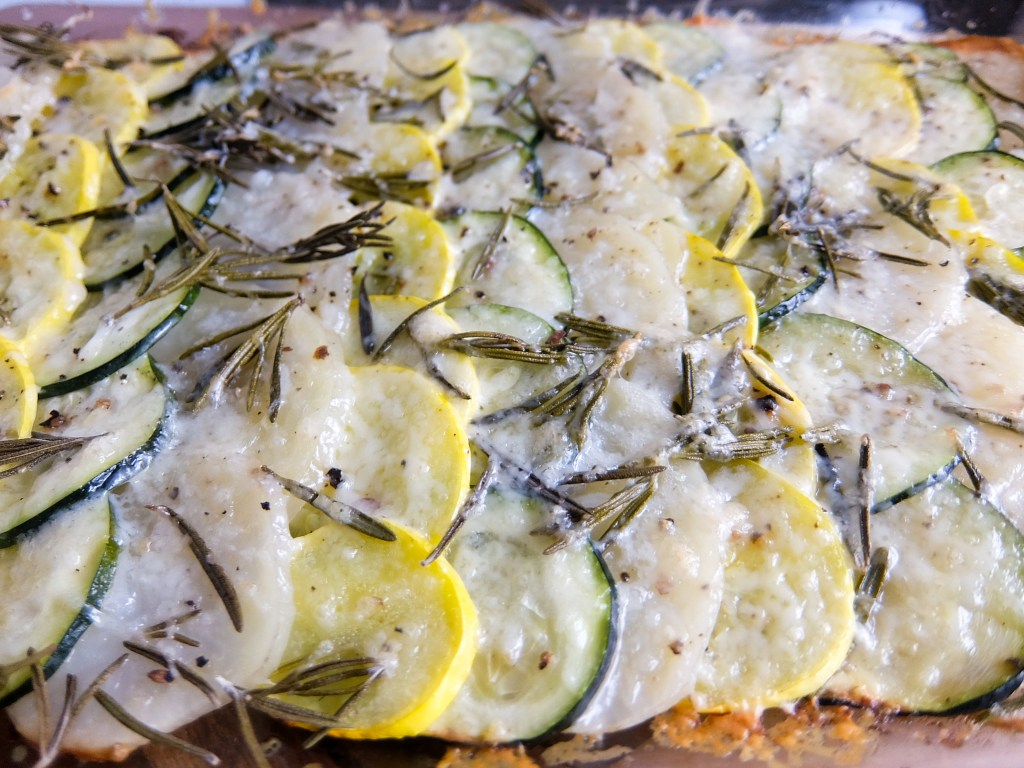 Potato Zucchini and Squash Gratin16