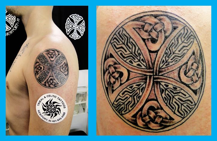 Celtic Cross Tattoo Celtic Tattoo Shop Newport Rhode
