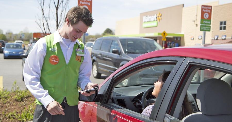 Order groceries online, then pick up curbside