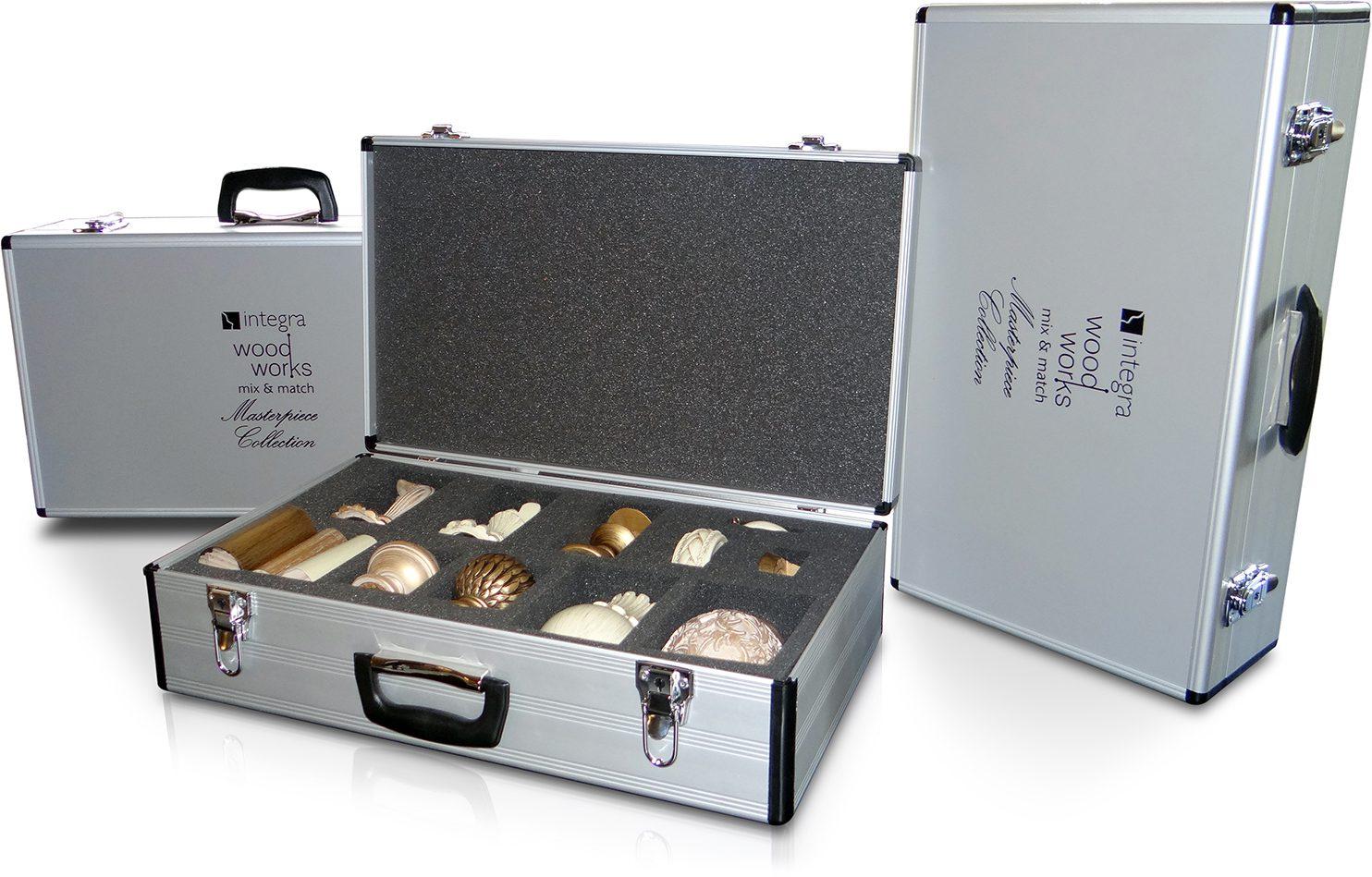 Sample Aluminium Case with Bespoke Foam Interior