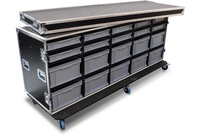 Large Flight Case with Drawers
