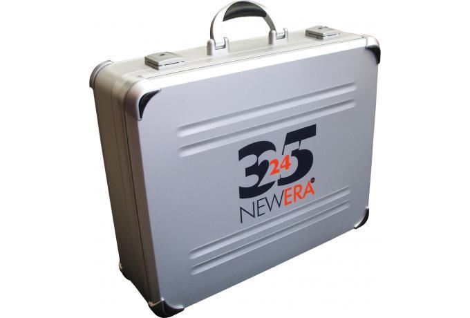 aluminium case with corporate branding