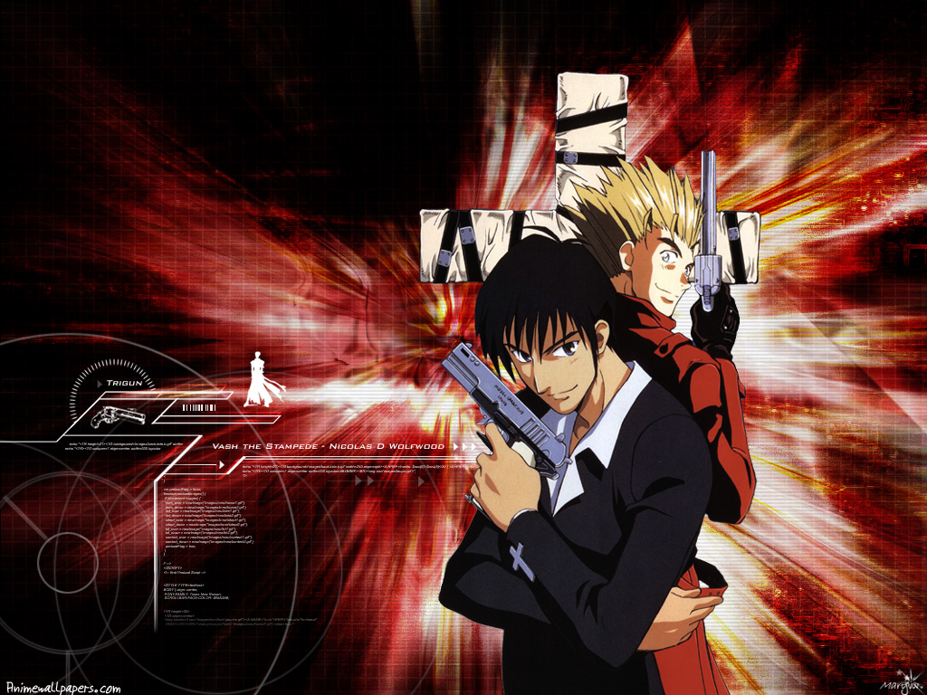 Anime Wallpaper Com Site Anime Manga Trigun World Anime Wallpapers