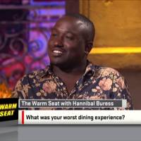 Hannibal Buress On The Warm Seat for Sports Nation (Video)