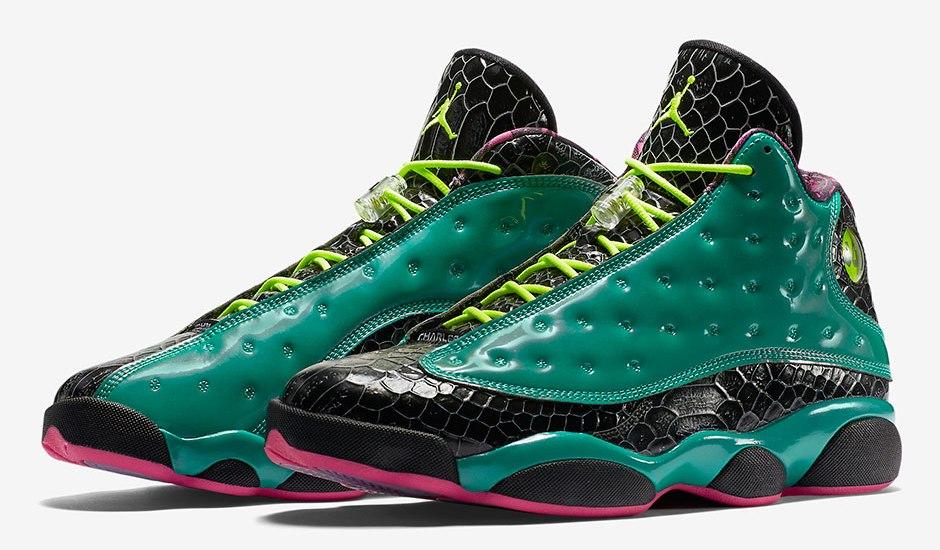 """In Hand Sneaker Review: Jordan 13 Doernbecher """"John Charles"""" (Video)"""