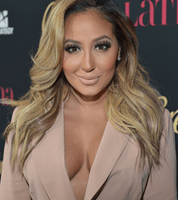 """""""The Real"""" Co-Host Adrienne Bailon And """"Mr. Robinson""""…"""