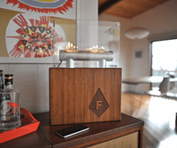 Fireside Audiobox Launches on Kickstarter to Light your Music on Fire