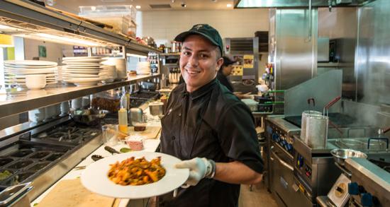 California Pizza Kitchen - TriMark RobertClark Portfolio - California Pizza Kitchen Chicago
