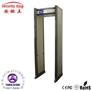 Security King walk through Archway Metal Detector door
