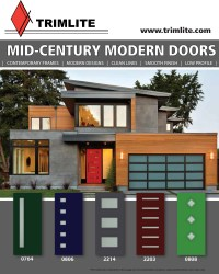 Mid-Century Modern Doors - Trimlite