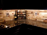 Nevada Trimpak installs brick flooring patterns backsplash ...