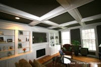Coffered Ceilings and Beams | Trim Team NJ  Woodwork ...