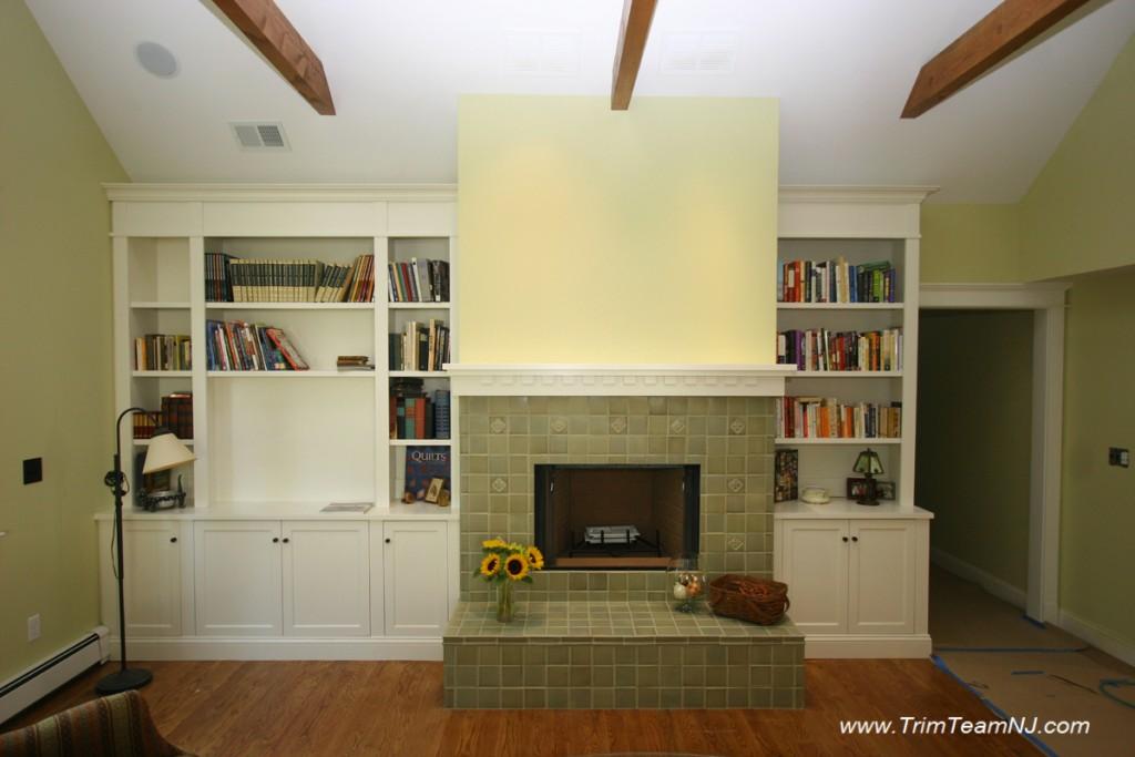 bookcases wall units built ins shelving bar trim
