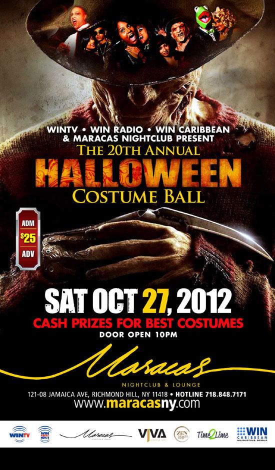 20th Annual Halloween Costume Ball  TriniJungleJuice - Trini