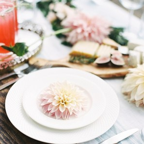 flower table setting
