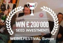 WEBIT.FESTIVAL ДАВА € 200'000 НАГРАДА