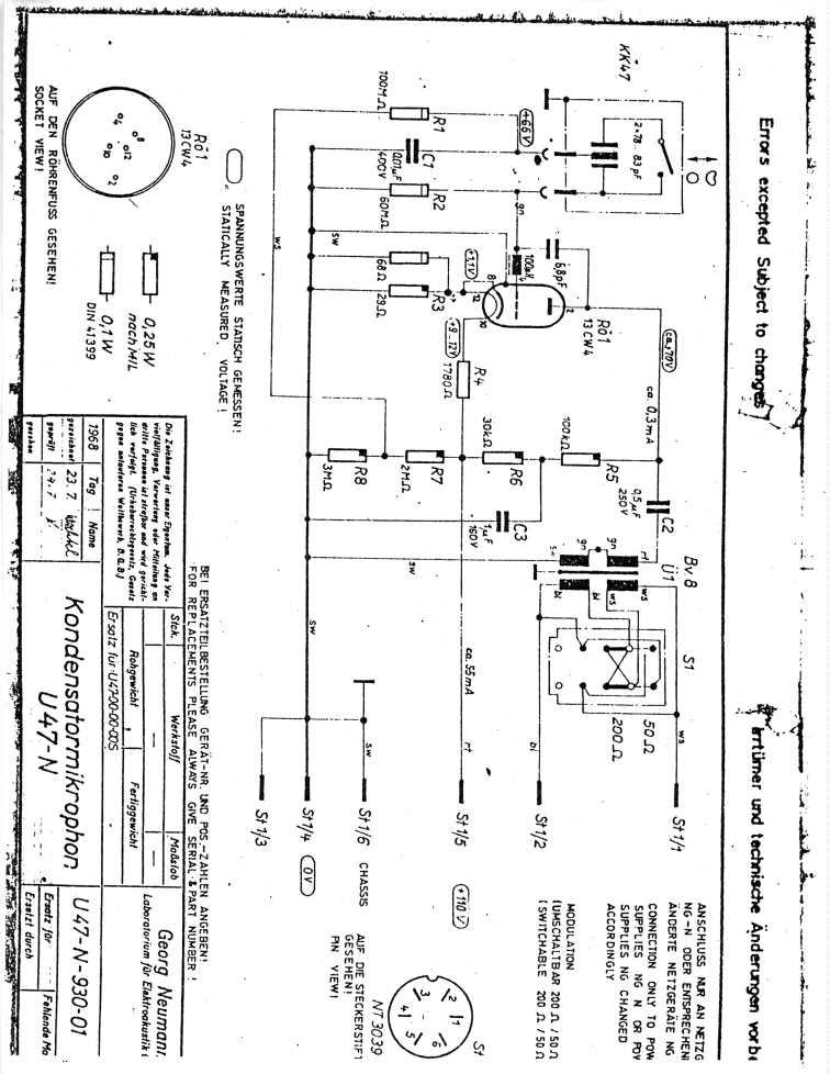Triode ElectronicsOn Line Studio Electronics Diagrams