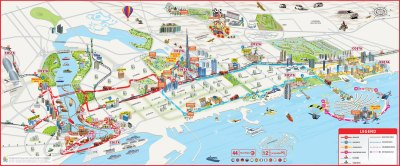 Dubai Attractions Map PDF - FREE Printable Tourist Map ...