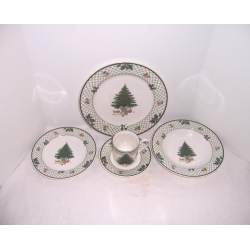 Small Crop Of Christmas Dinnerware Sets