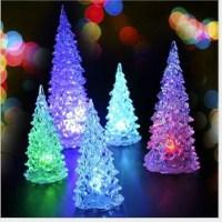 TripleClicks.com: Mini LED Lighted Christmas Tree,Indoor ...