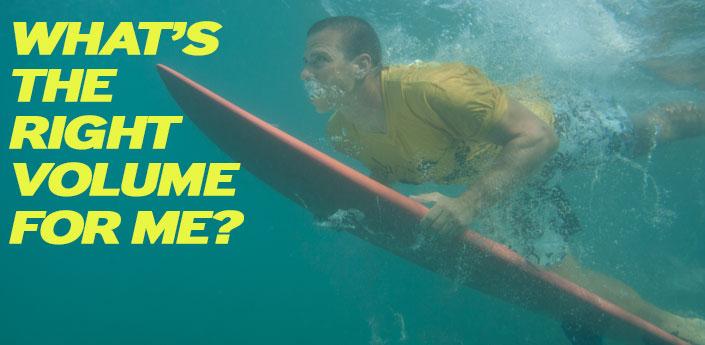 Surfboard Volume Chart \u2014 REAL Watersports