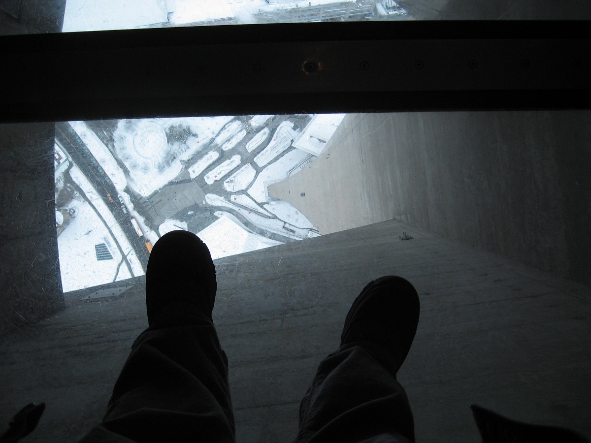 Cn Tower Glass Bottom Floor Travels Trips Tails