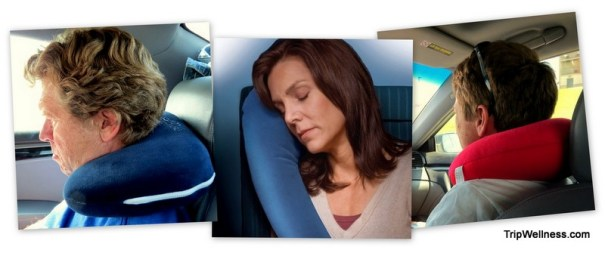 Travel Pillows Collage