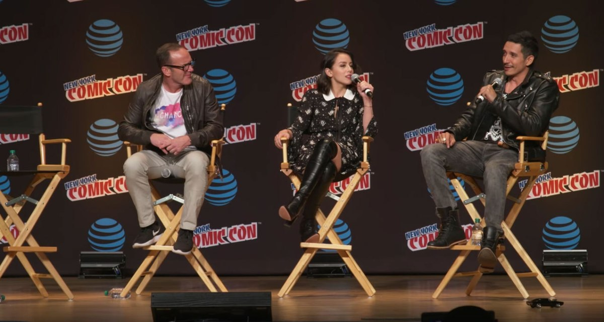 Agents Of S.H.I.E.L.D At NYCC