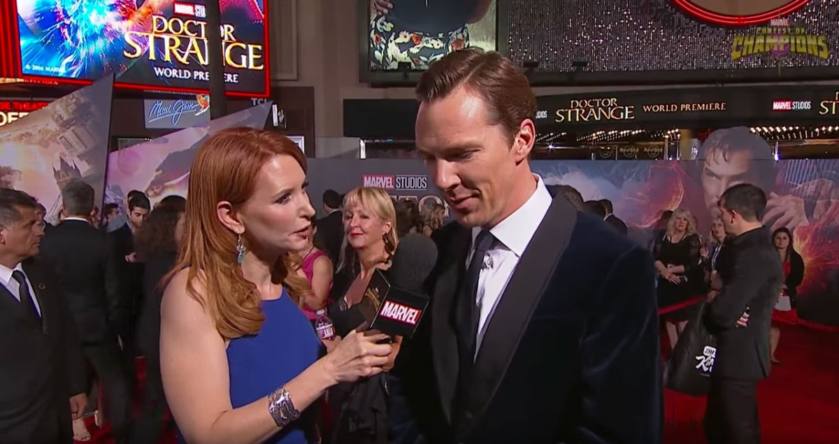 Benedict Cumberbatch Talks About Becoming Doctor Strange At The Premiere