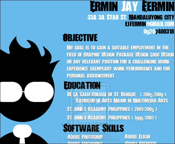 40 Smart and Creative Resume and CV Design Ideas - resume design ideas