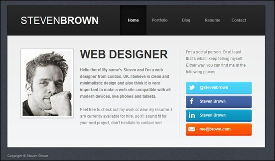 wordpress modern resume theme free - Funfpandroid - wordpress resume theme