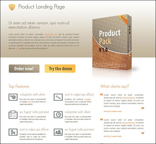 35+ Top Landing Page Templates To Boost Your Conversion \u2013 Tripwire