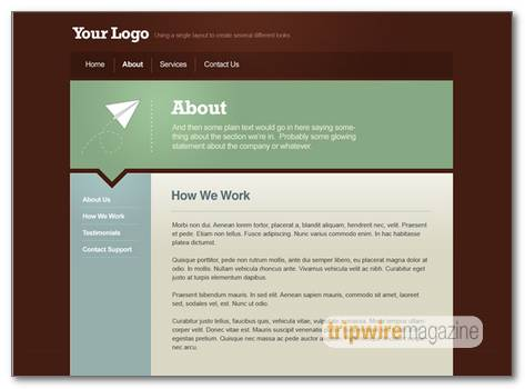 Simple Html Web Page Layout wwwpicturesso