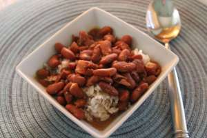 slow cooker red beans