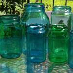 Tinted Jars Craft