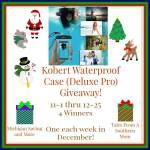 Kobert International Waterproof (Deluxe Pro) Case #Giveaway Ends Dec. 25 ENDED