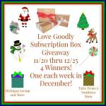 Love Goodly #Giveaway Ends Dec. 25  #GTG2015