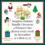 SOAPBOX ELEMENTS HOLIDAY BUNDLE #Giveaway Ends Dec. 25