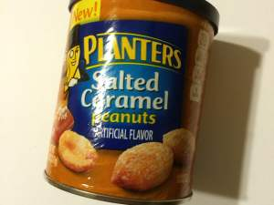 He loves sweet peanuts. He also loves caramel. I'm thinking that this should be perfect.