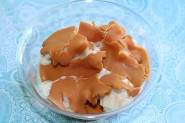 butterscotch hard topping cracked