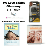 We Love Babies Giveaway Ends May 31