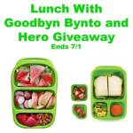 Lunch with Goodbyn Bynto and Hero Giveaway @las930 @goodbyn Ends July 1