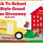 Back To School In Style Grand Prize #Giveaway @las930 Ends Aug. 31