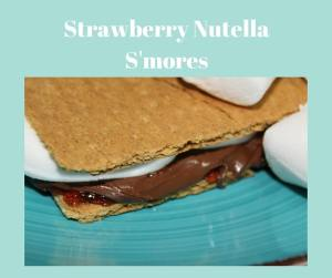 Yep, I need some strawberry nutella s'mores right now!