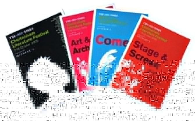 Cheltenham Literature Festival programme print