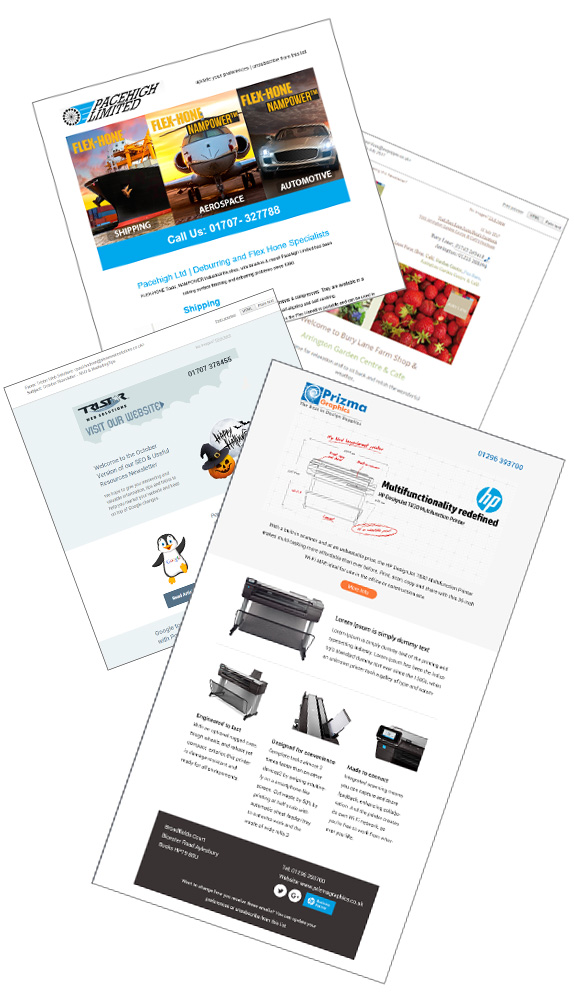 Email Marketing - Email newsletter responsive template design and - email marketing sample