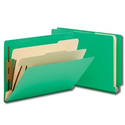 Legal Size / Side Tab / 2 Dividers  American Folder Company Filing - folder dividers tabs